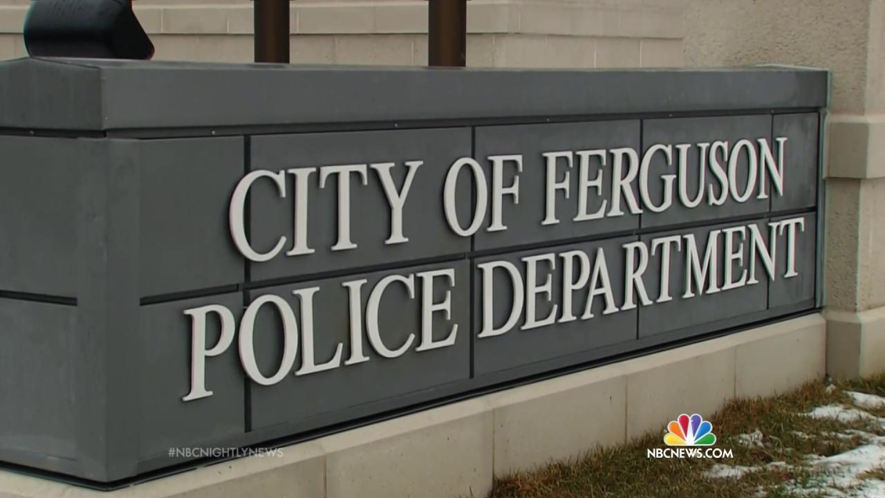 Ferguson Officials Suspended After DOJ Report Have Resigned, City Confirms
