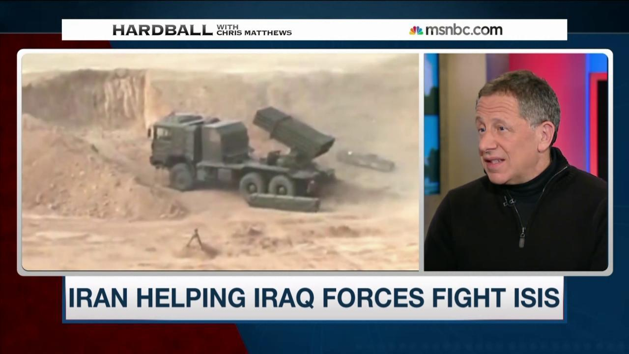 Does Iran help in the fight against ISIS?
