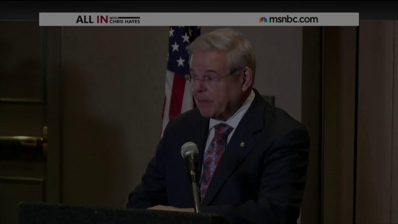 Federal corruption charges expected for Sen. Robert Menendez