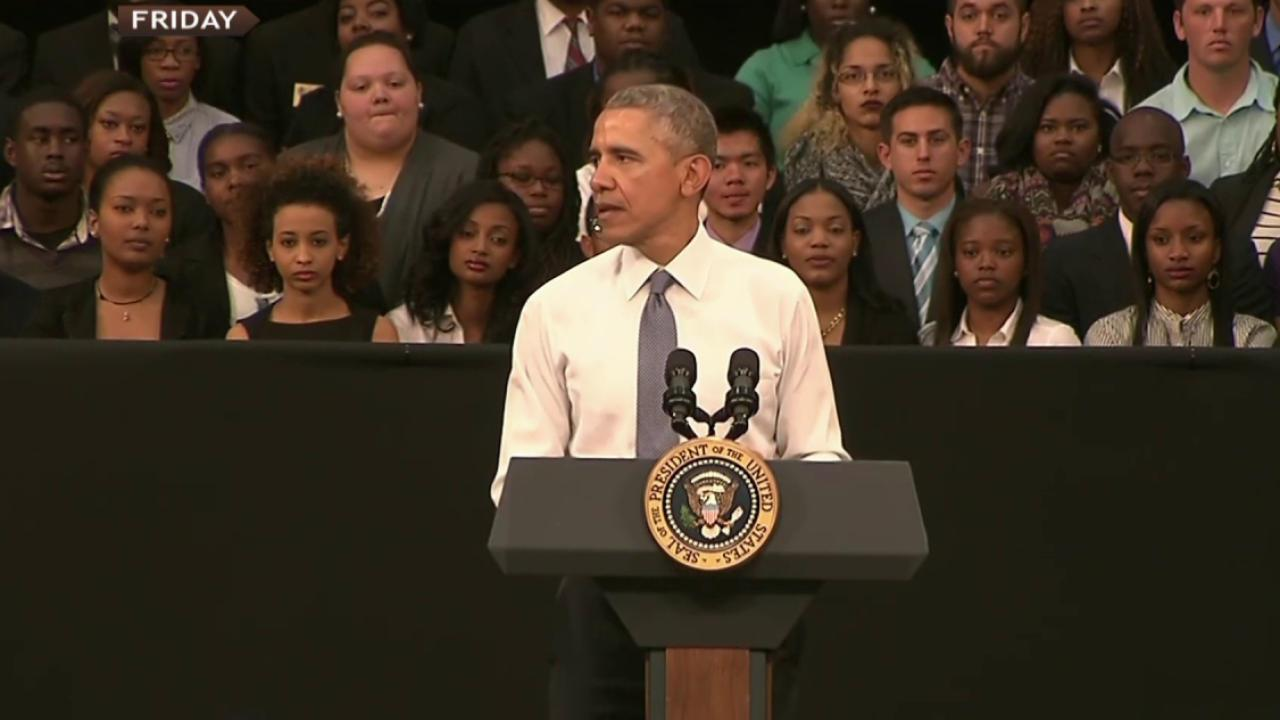 Obama: Why Selma is relevant to young people