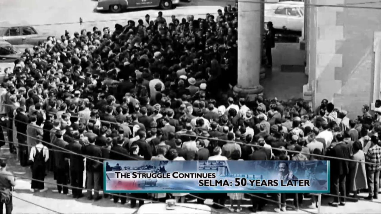 Selma anniversary a 'call to action'