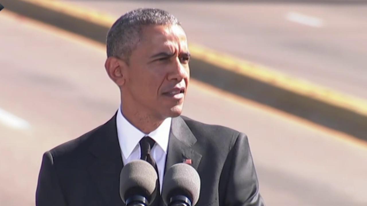 President Obama at 50th anniversary in Selma