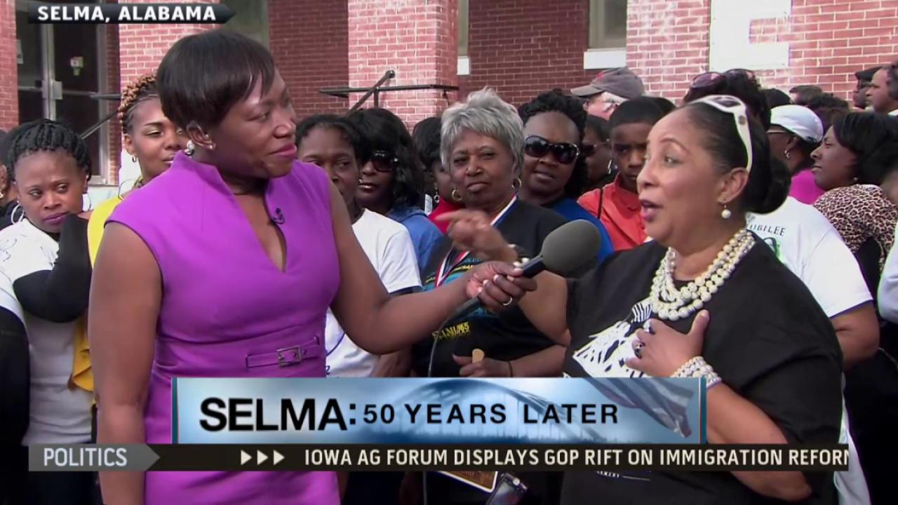 Youngest Bloody Sunday marcher recalls MLK