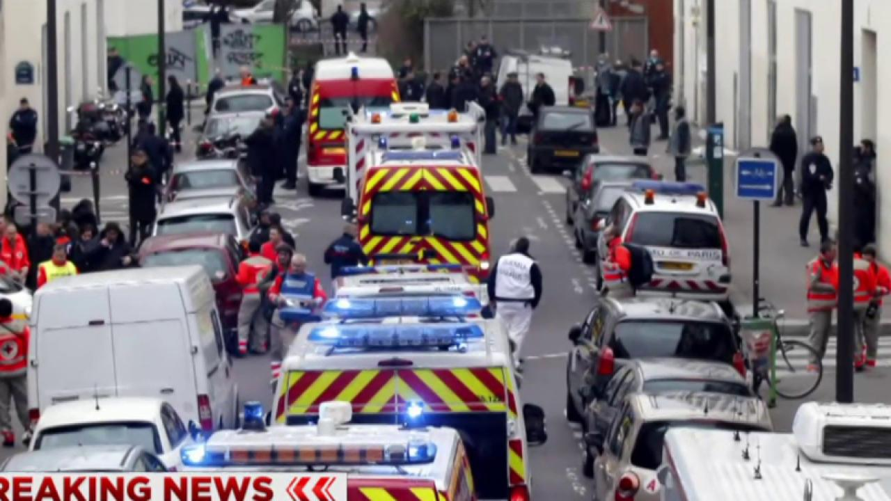 Report: Four arrested in Charlie Hebdo attack