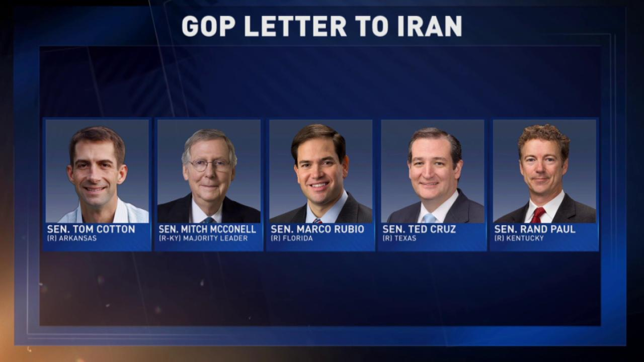 GOP enter dangerous territory over Iran