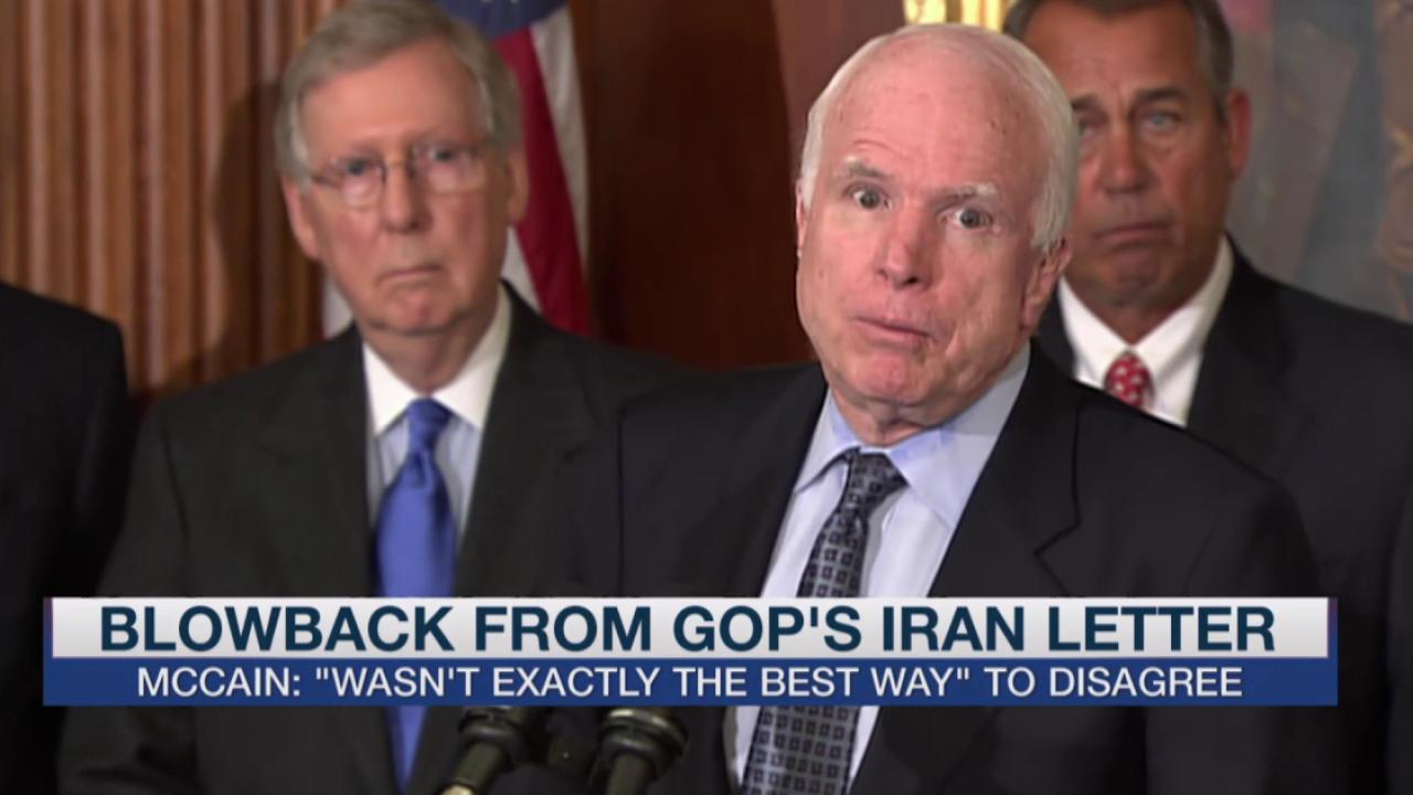 McCain, other Republicans now regret letter?