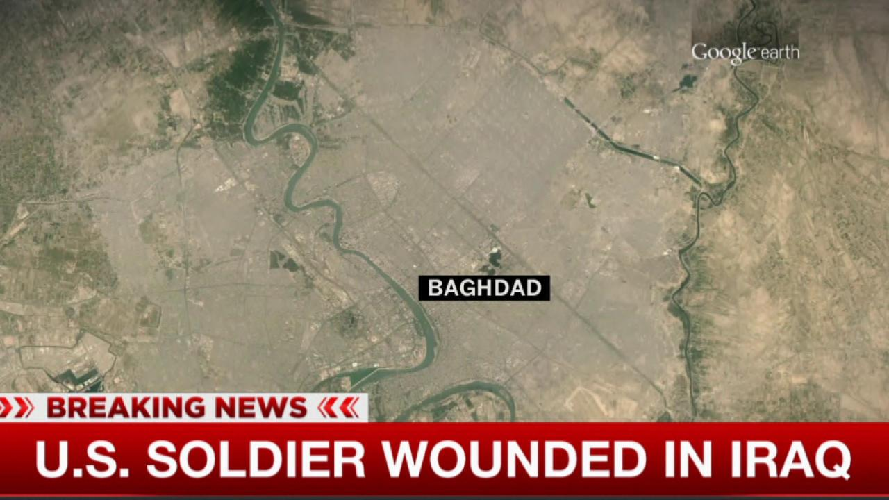US soldier wounded in Iraq