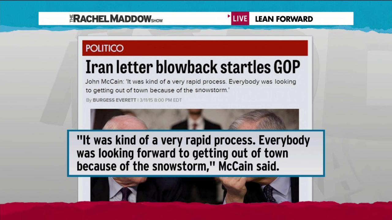 GOP scrambles to control Iran letter damage
