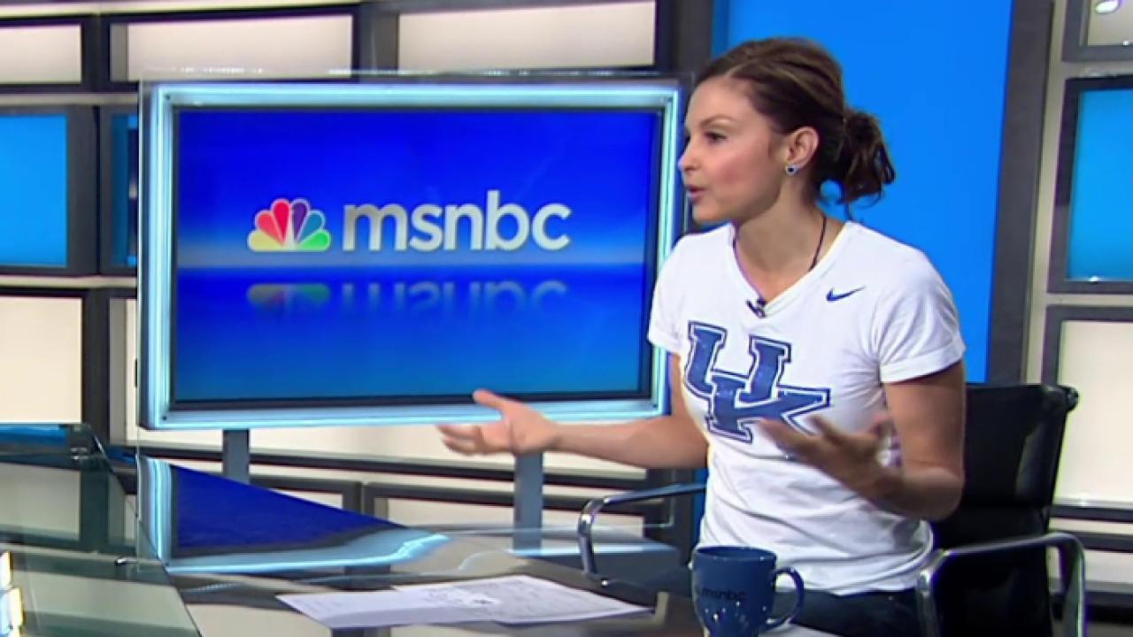 Ashley Judd's rallying points