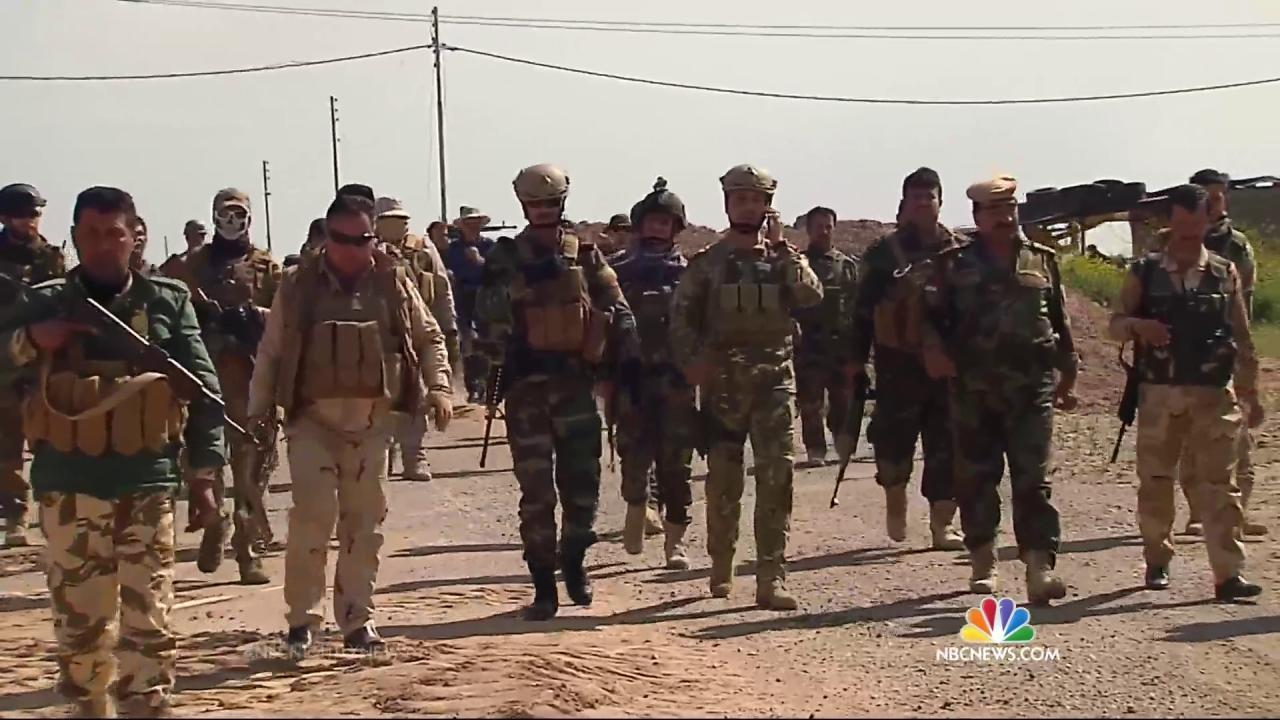 American Volunteers Help Kurds Fight ISIS in Northern Iraq