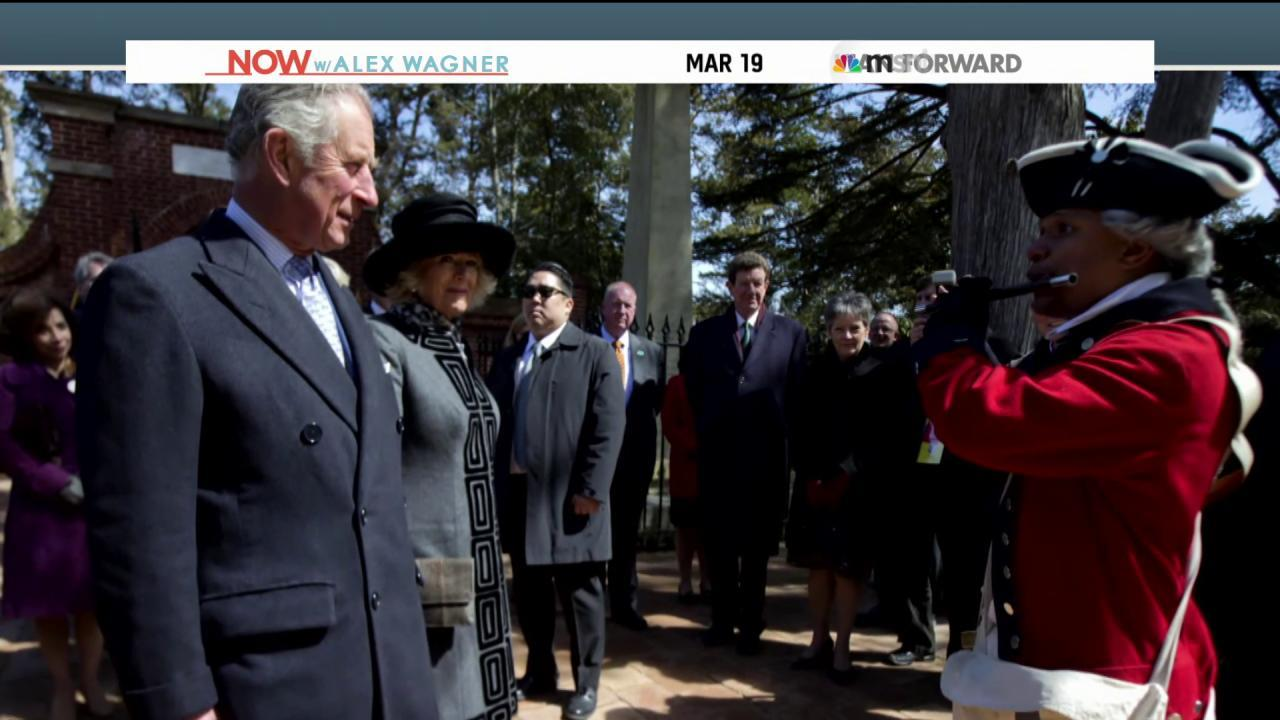 Prince Charles and Camilla's DC sojourn