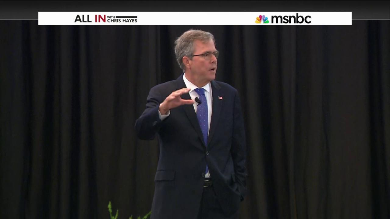 Is Jeb Bush inevitable?