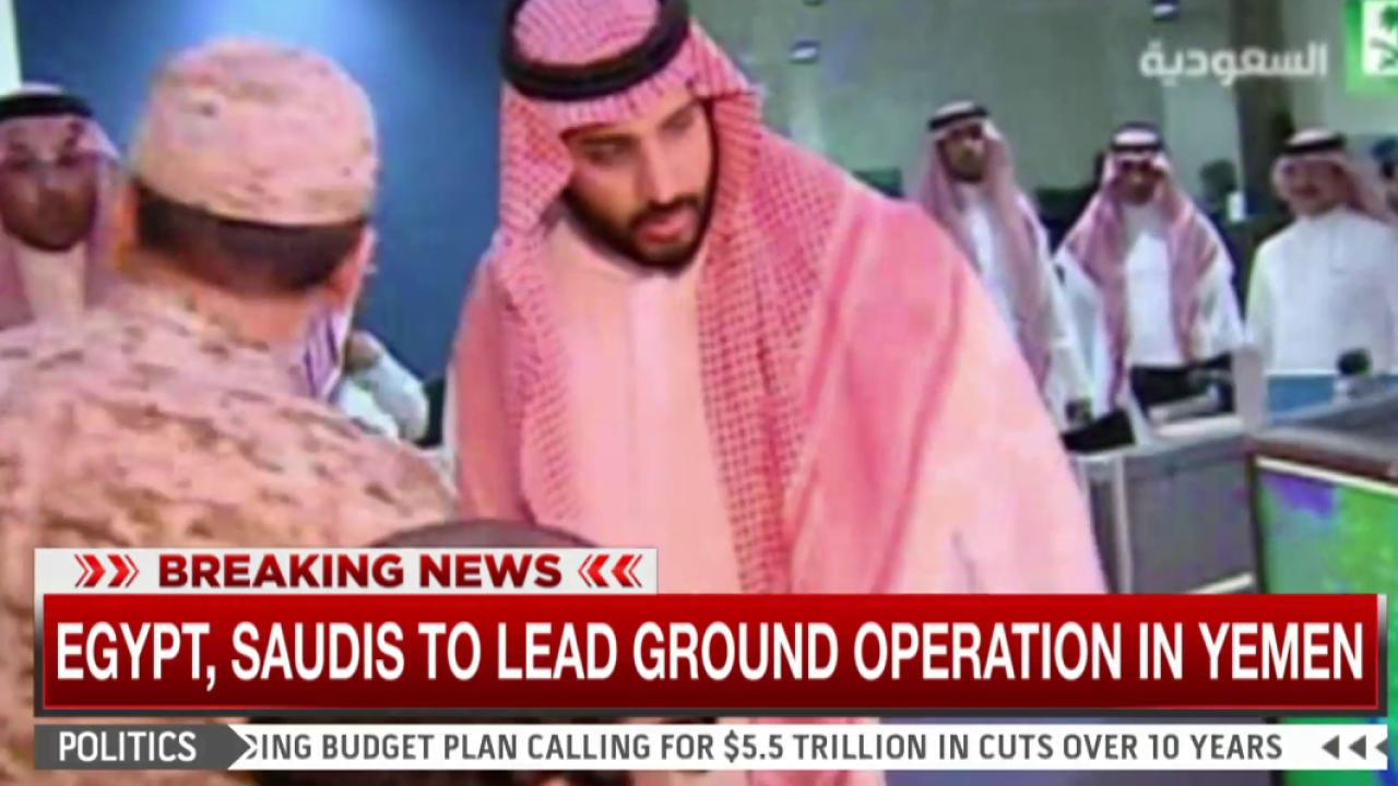 Saudi Arabia strikes to stop rebels in Yemen