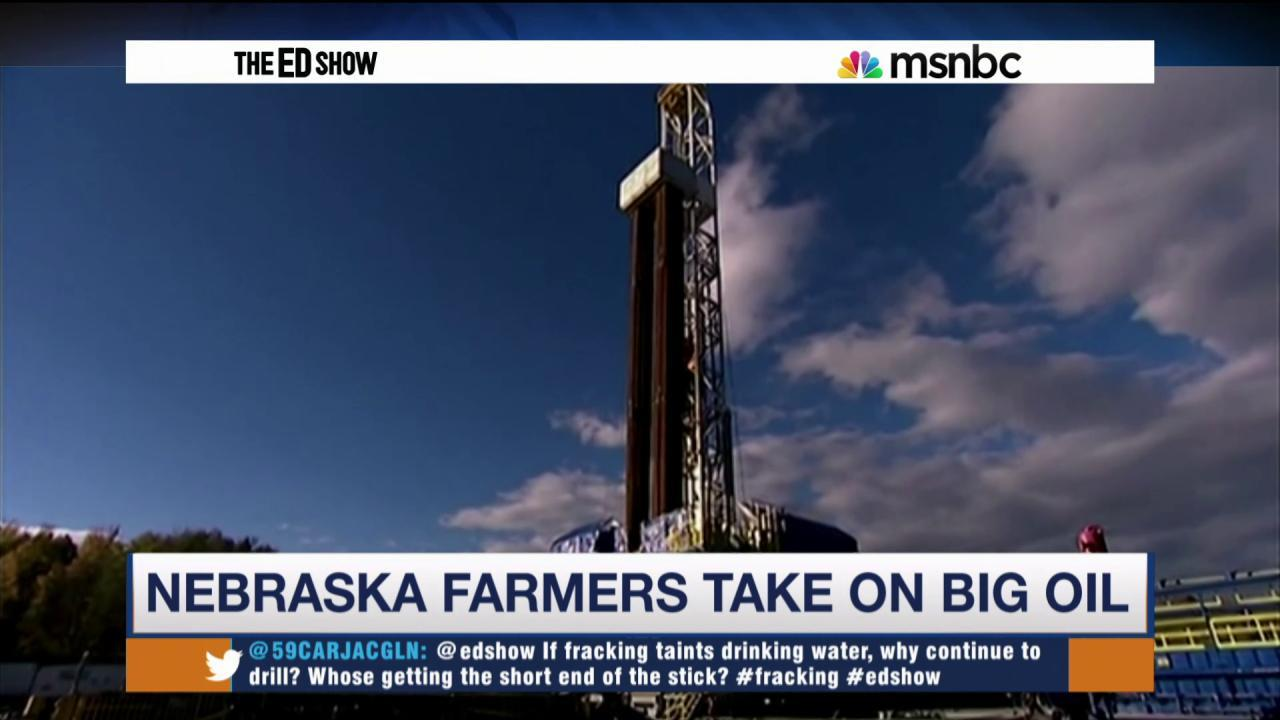 Fracking taints drinking water