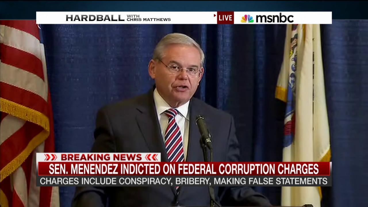 Sen. Menendez: 'I will be vindicated'