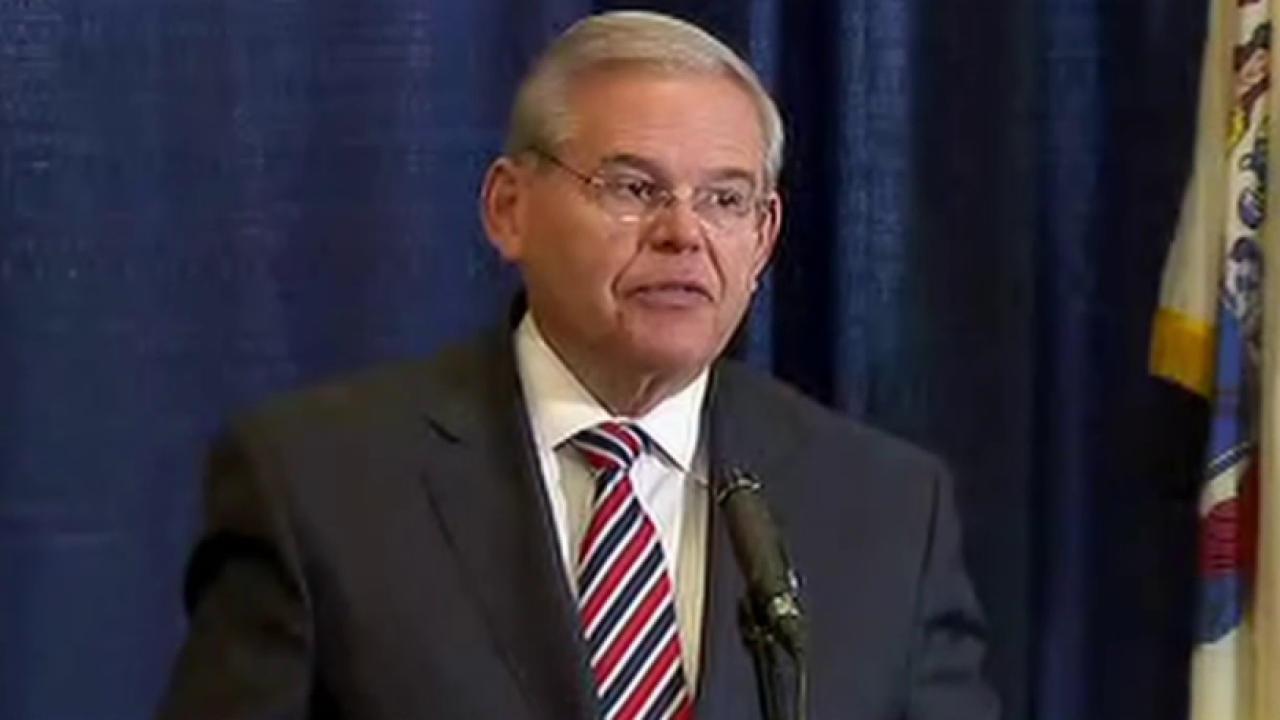 Senator Menendez indicted on fraud charges