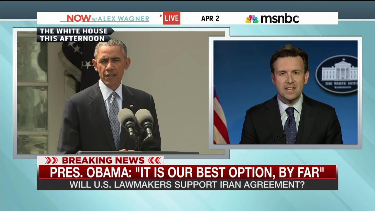 Iran deal 'clearly the best option we have'