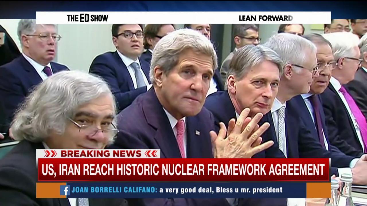 Republicans criticize Iran deal