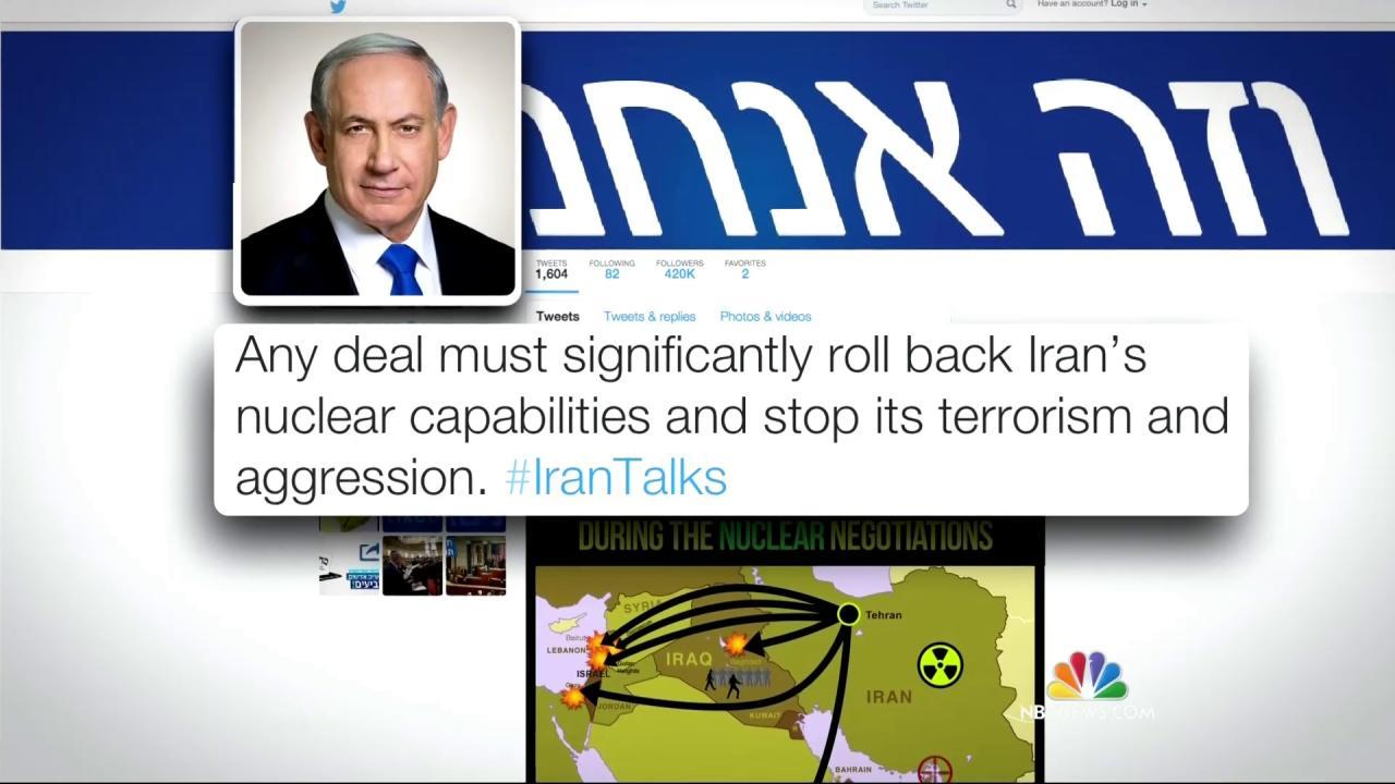 Netanyahu Calls Iran Nuclear Agreement a Threat to Israel's Survival