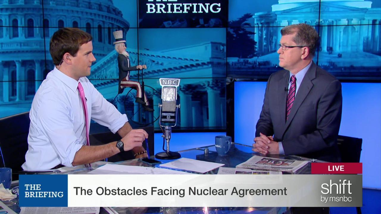 The biggest obstacles to Iran deal's future