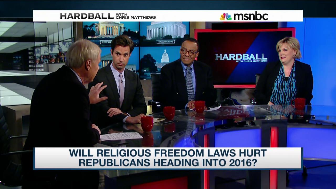 Will 'religious freedom' laws hurt the GOP?
