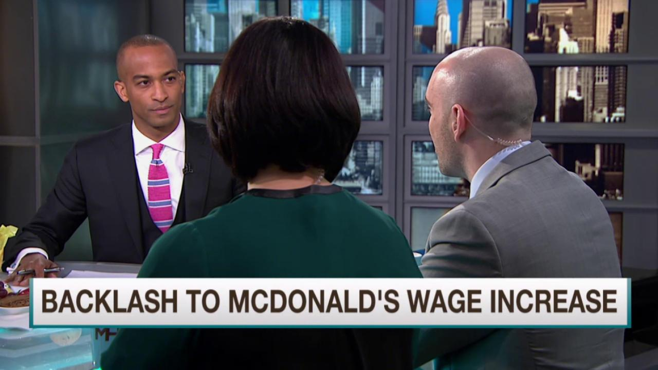 McDonald's plan may be tough for franchises