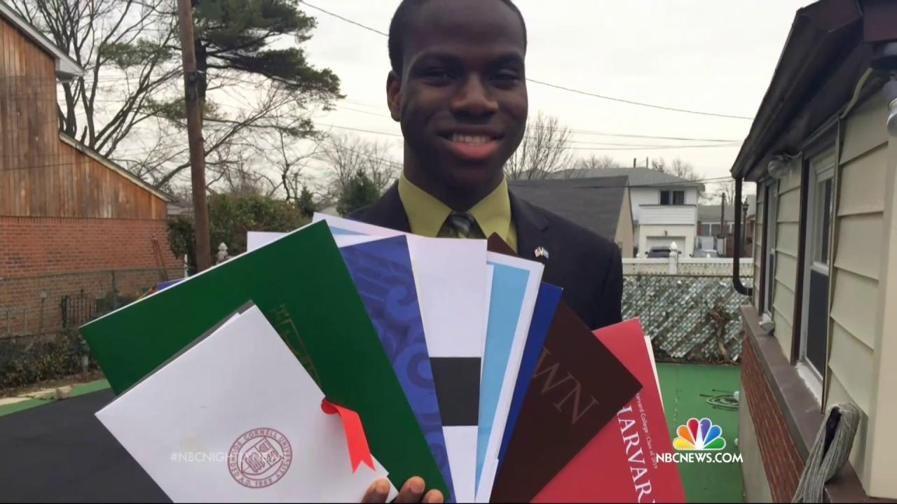 New York Teen Harold Ekeh Gets Accepted to All Eight Ivy League Schools