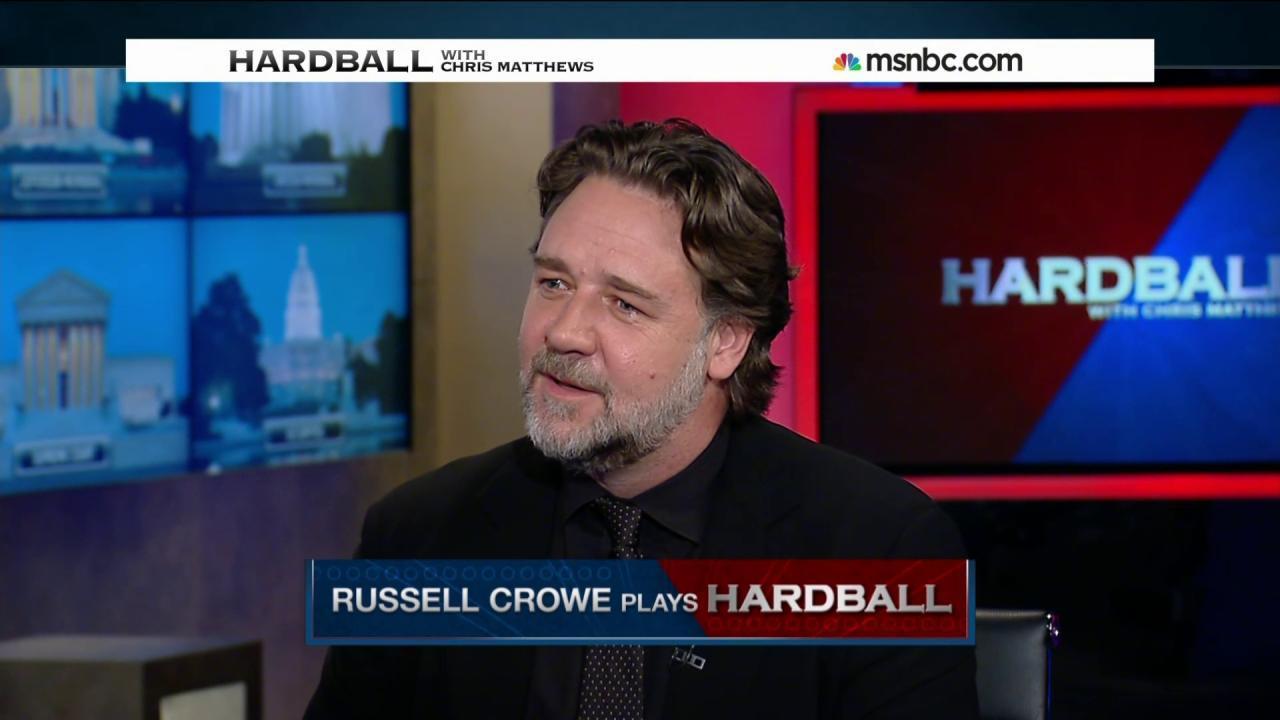 Russell Crowe plays Hardball