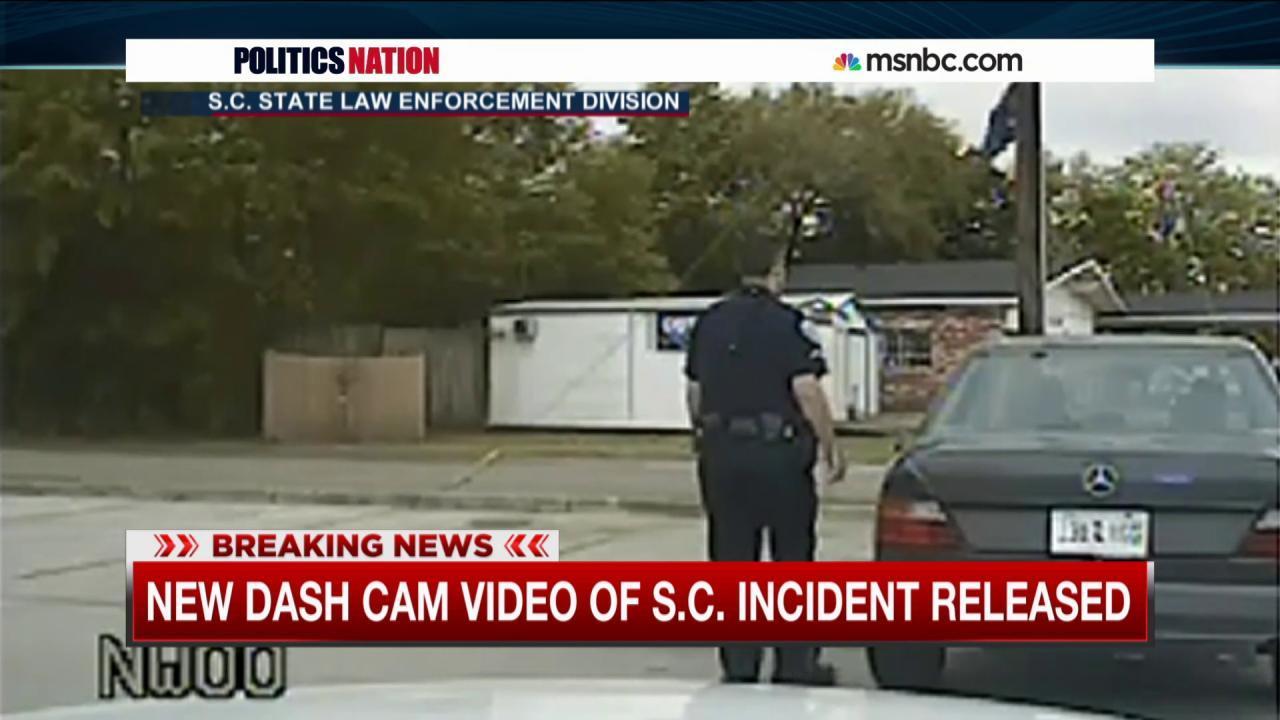 Dashcam footage details Walter Scott stop