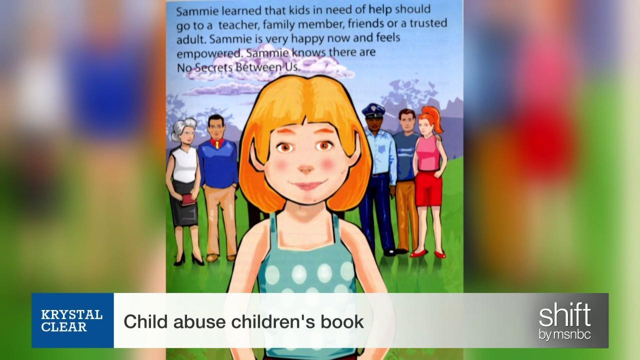 Read this child abuse children's book