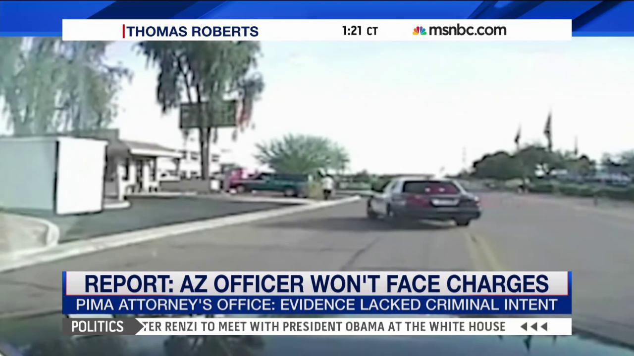 AZ police chief: Cop 'did the right thing'