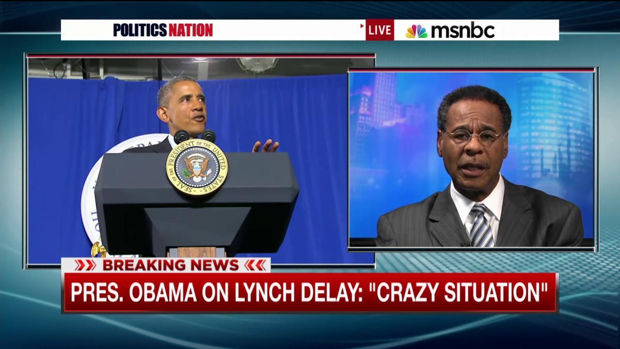 Pres. Obama: 'Call Loretta Lynch for a vote'