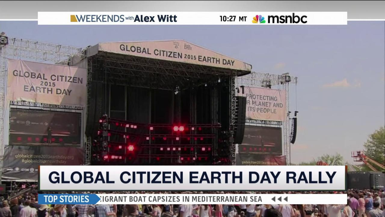 Global Citizen fest brings issues to...