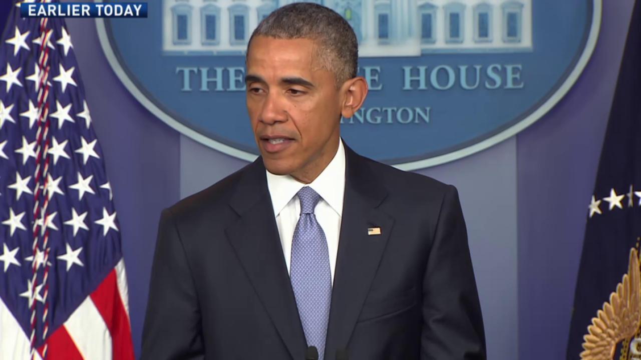 Obama: 'I take full responsibility'