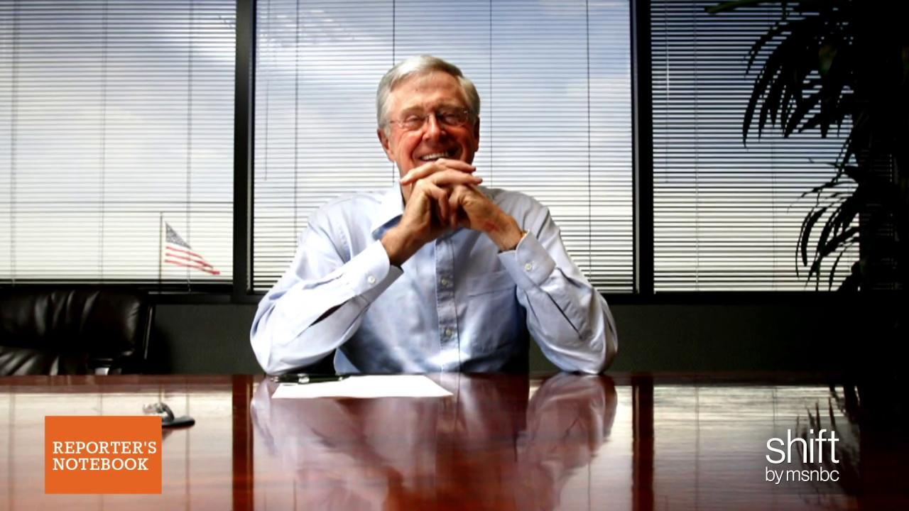 Who will the Koch brothers support in 2016?