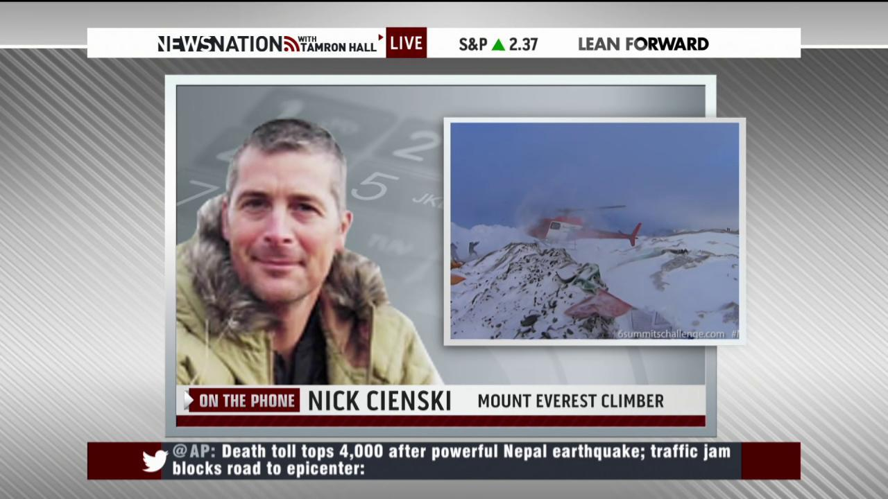 Nepal earthquake survivor shares story