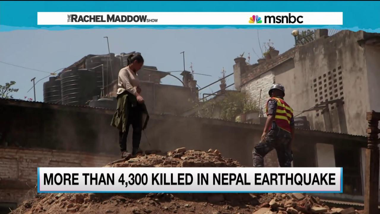 Hospitals overwhelmed as Nepal tries to heal