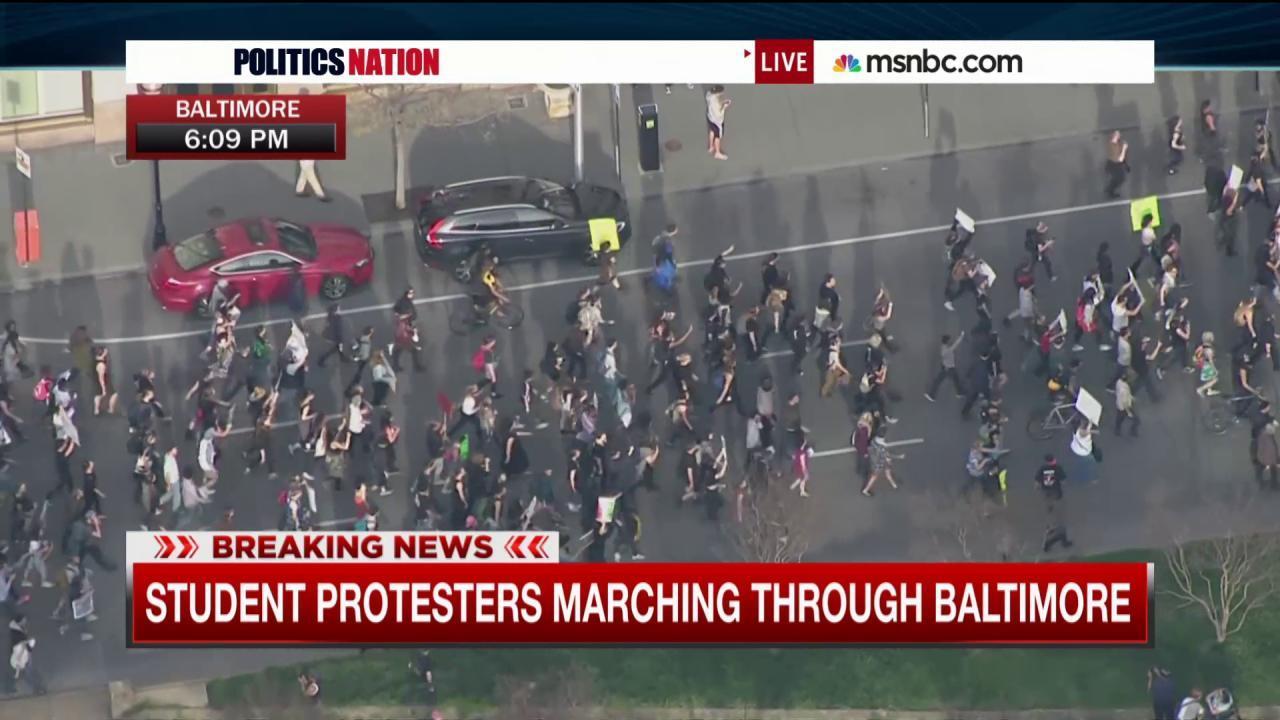 Baltimore uprising: Day 2