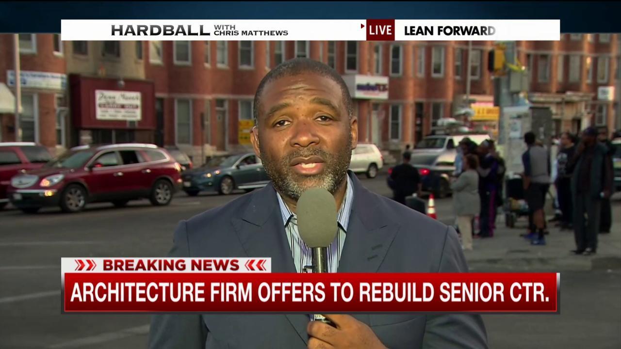 Firm offers to rebuild Baltimore senior...