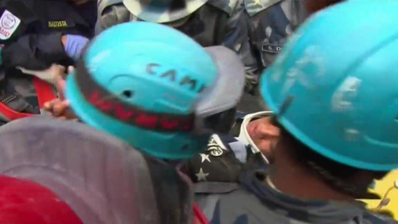 Teen rescued from Nepal rubble after 5 days