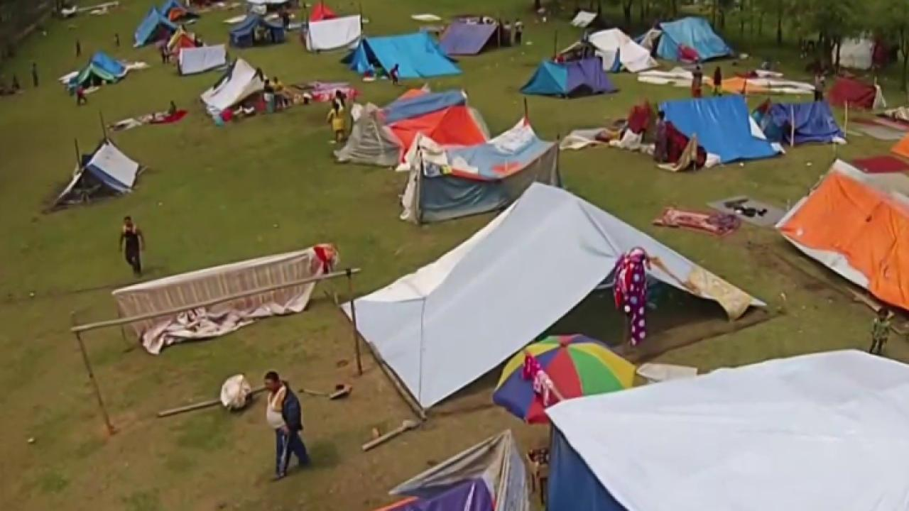 Aid aims to help Nepalese displaced by quake