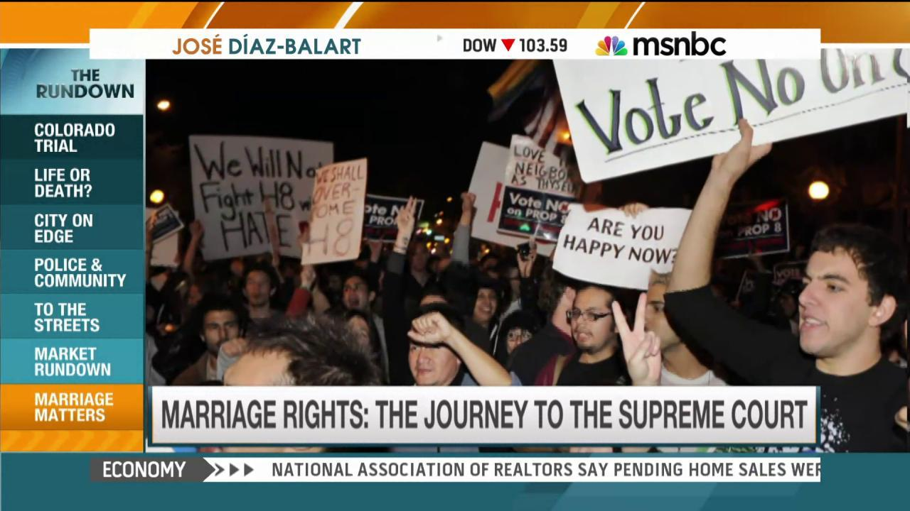 Marriage equality's path to the Supreme Court