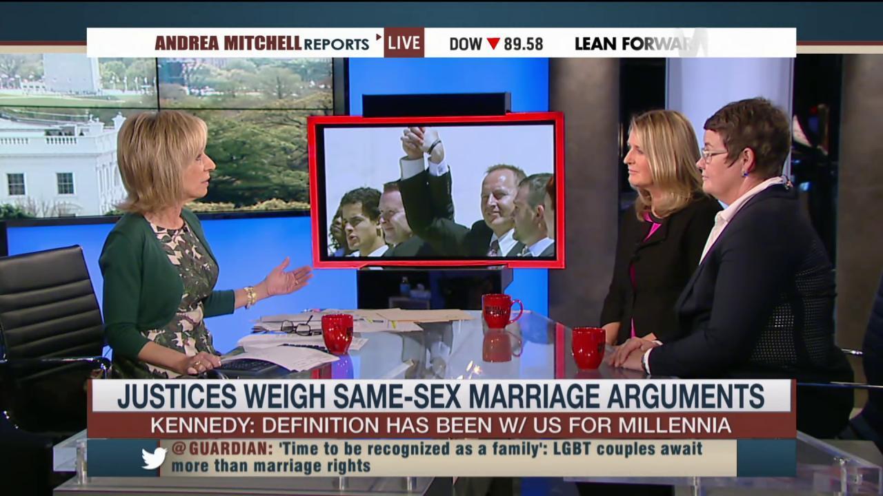 Same-sex couples await SCOTUS decision