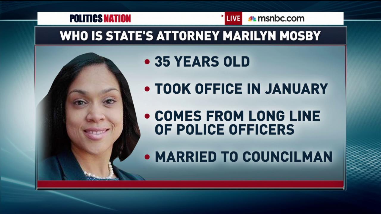 The Challenge for Marilyn Mosby