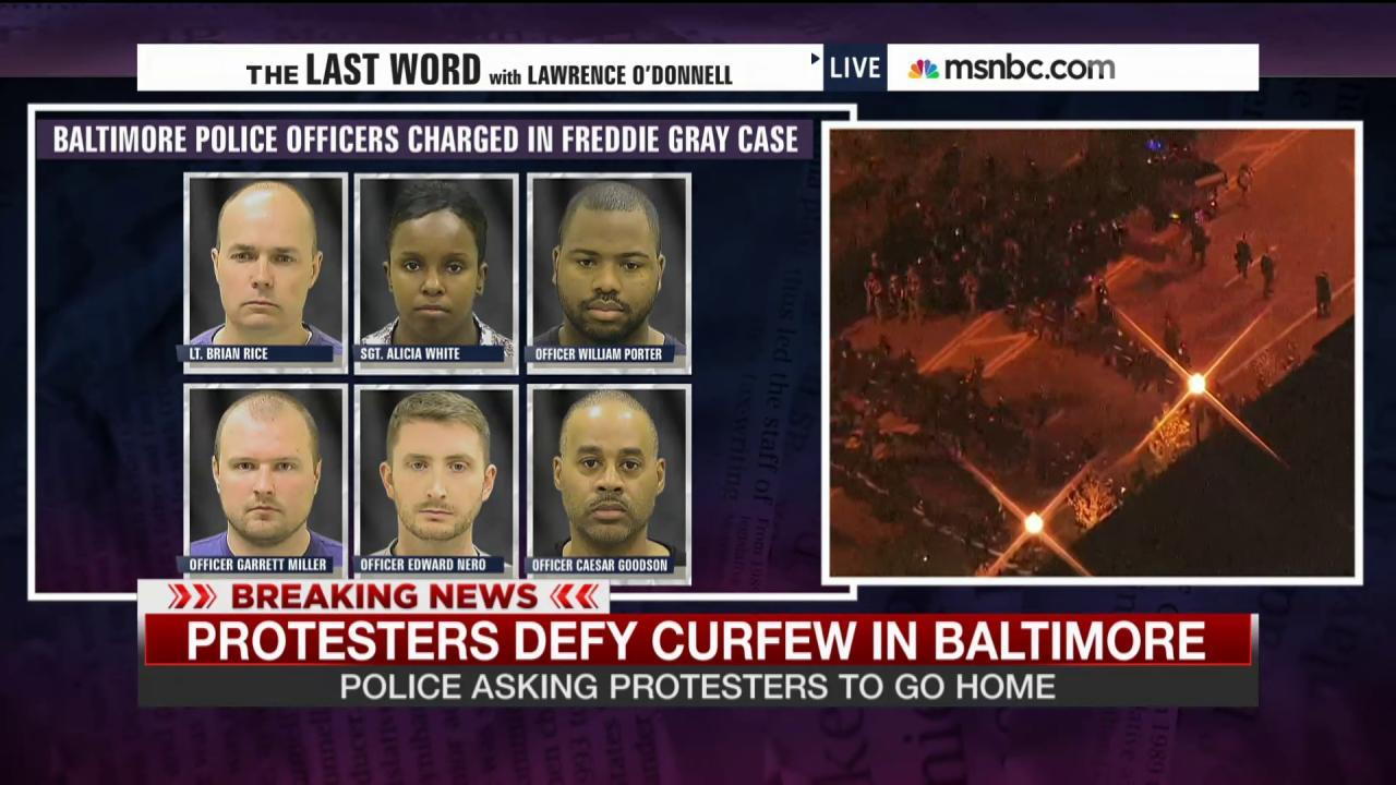 What we know about the charged officers