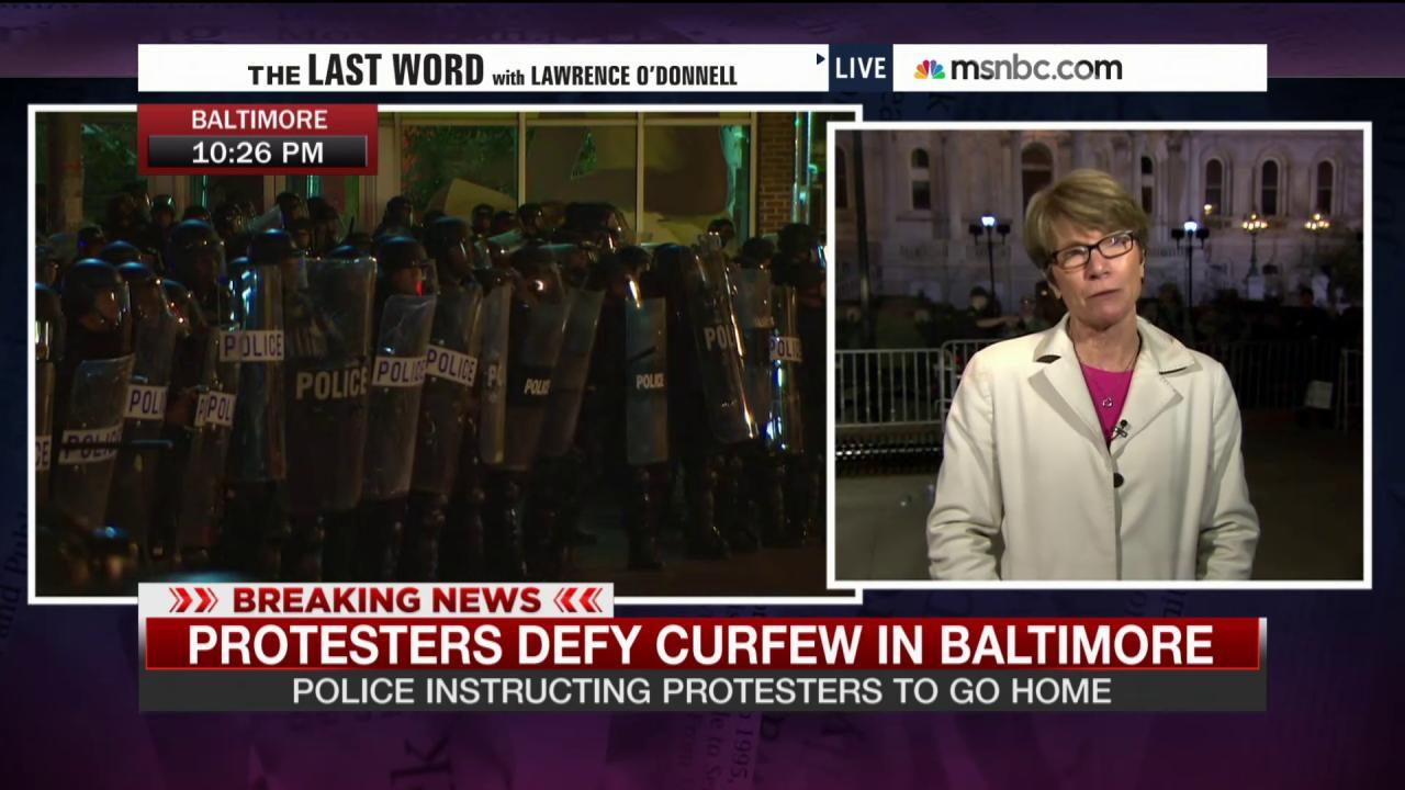 Police and protesters clash at City Hall