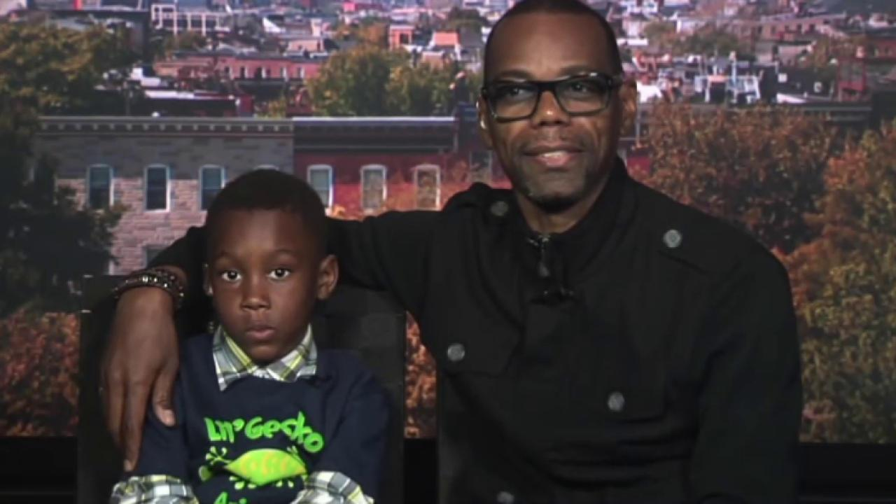 Father turns protest into learning experience
