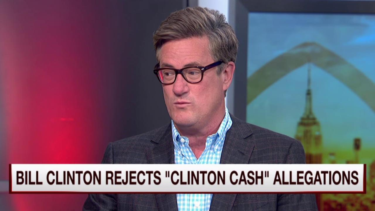 Joe: Clintons are held to the lowest standard