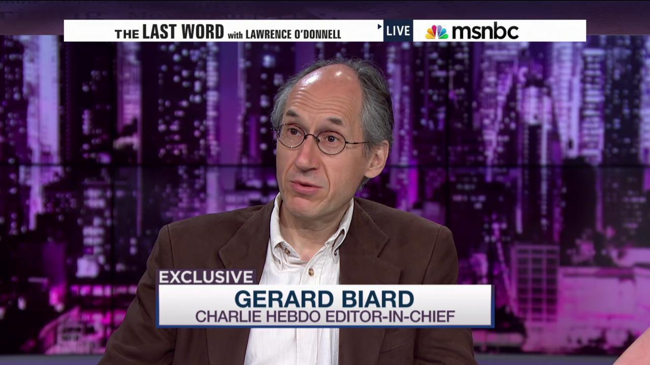 Exclusive: 'Charlie Hebdo' Editor-In-Chief