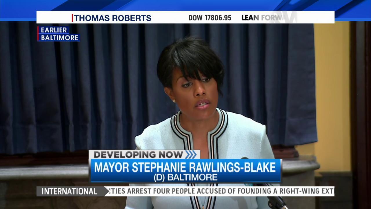 Baltimore mayor asks for DOJ probe of police